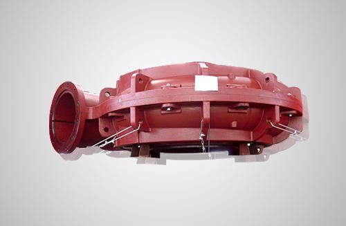 φ750渣浆泵出口装车铸件