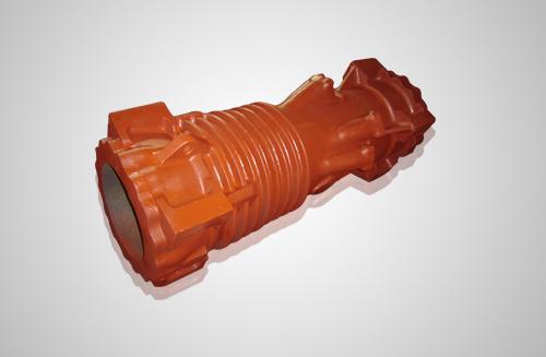 柴油打桩机汽缸球铁铸件,内径从φ300-φ800系列产品
