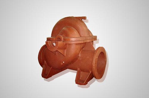 工业用中开水泵铸件,从φ500-φ1400系列产品
