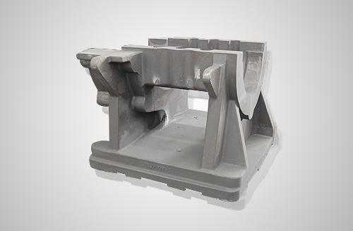 渣浆泵轴承座底座球铁铸件