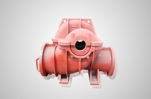 工业用中开水泵铸件