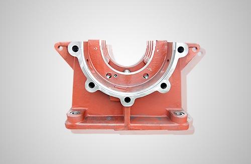 渣浆泵轴承座底座机加工零件
